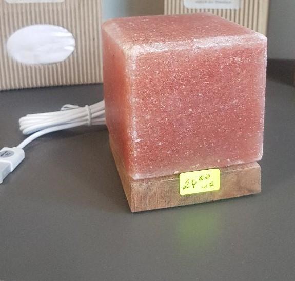 usb лампа за компютър от хималайска сол